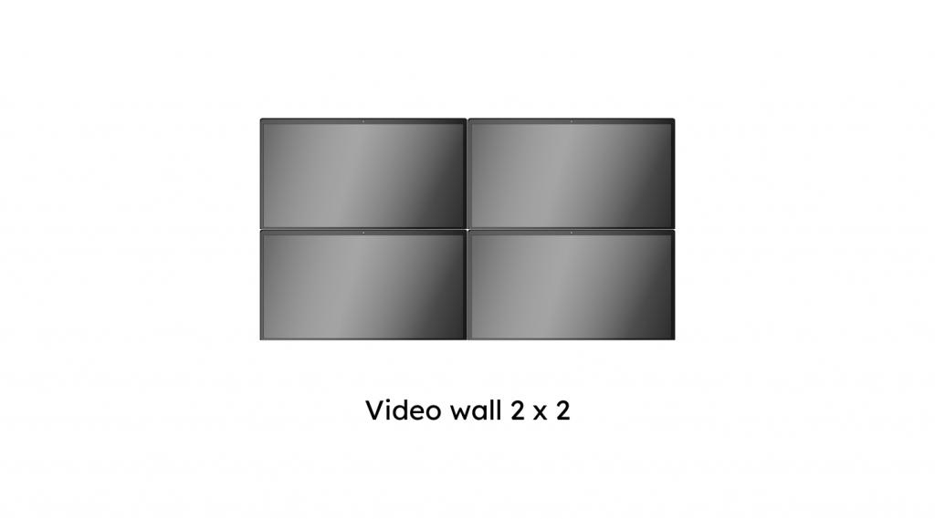 video wall klein